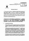 Proyecto de Ley N° 496