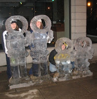Eskimo Snow Sculptures