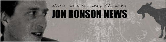 Jon Ronson News