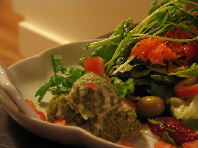 Middle Eastern Falafel Salad