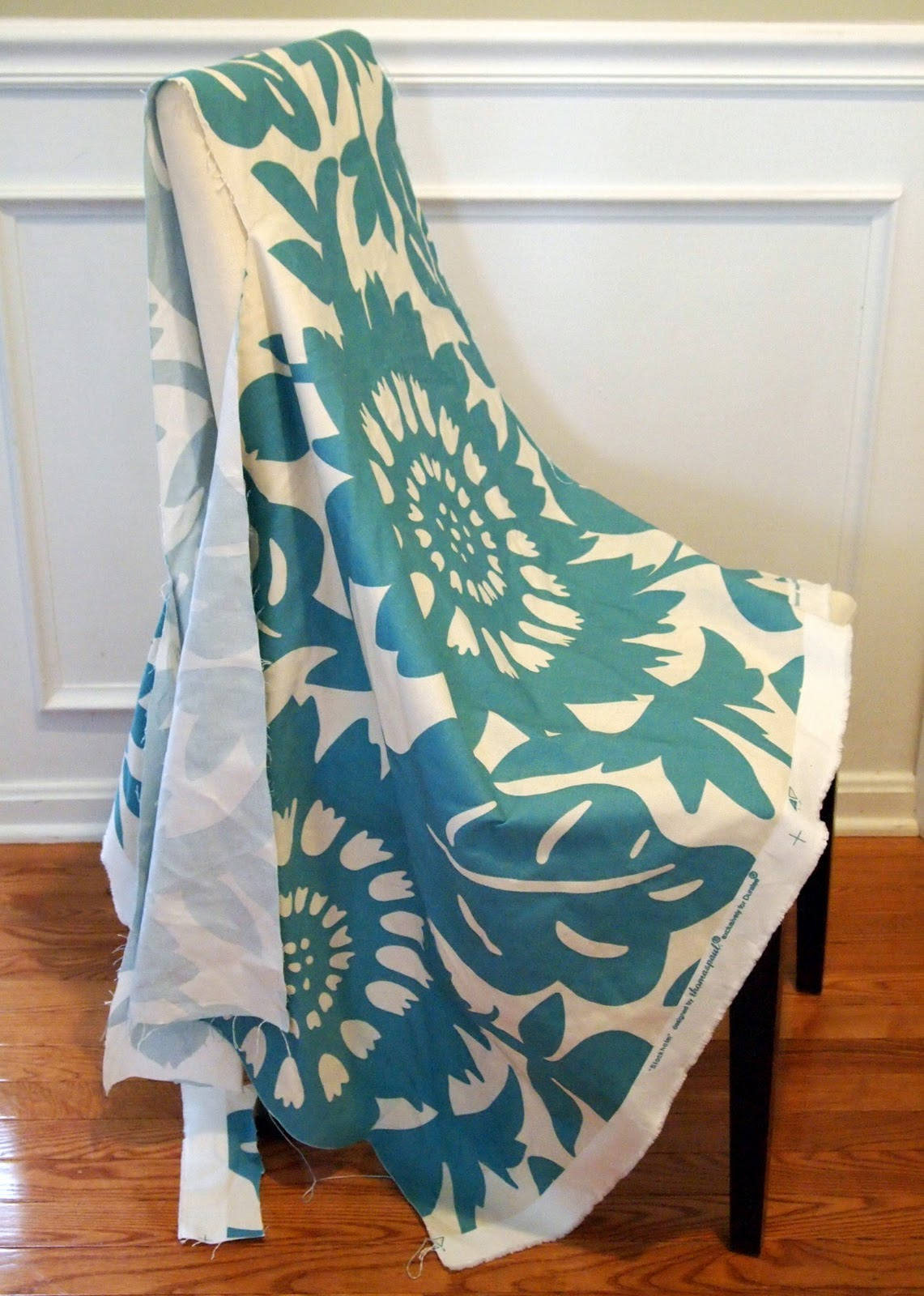 How to sew a chair