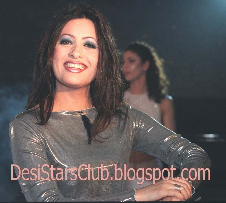 Tunisian pop superstar Latifa