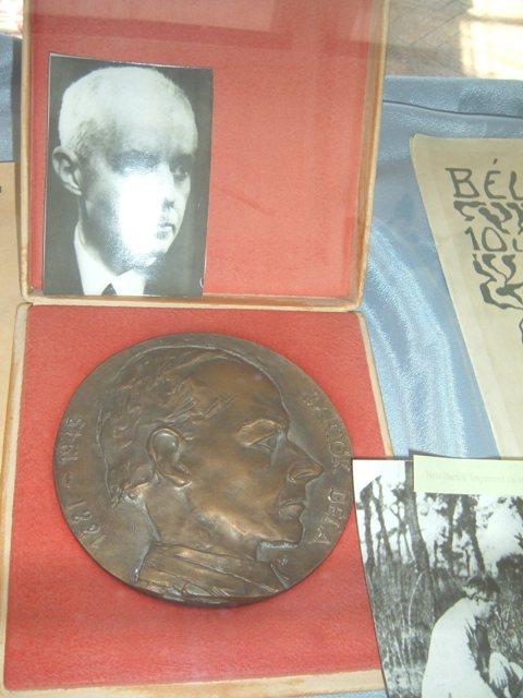 Medalie comemorativa - Bela Bartok
