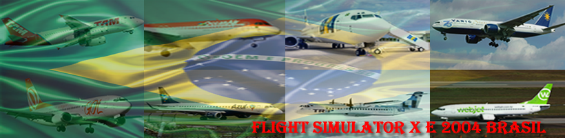 Flight Simulator X e 2004 Brasil