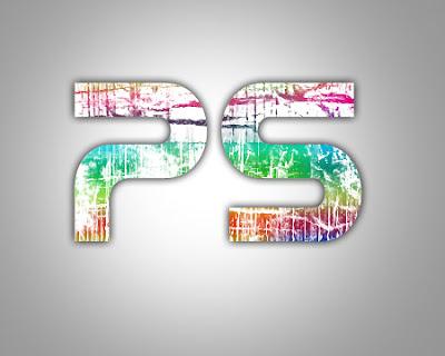 final Photoshop Tutorials: Make Grunge Rainbow text effect