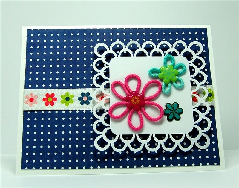 Flower Designs For Cards Flower Power Card a Little