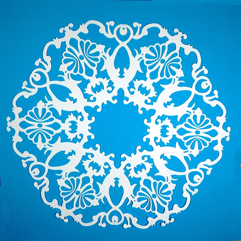 Capadia Designs Snowflake From Frame The Test Cut And Files