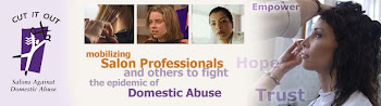 MY Salon and I are Against Domestic Abuse