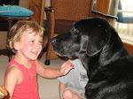 Juliet and Zach dog