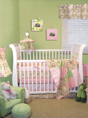 Purple And Green Nursery Ideas Home Staging Accessories 2014