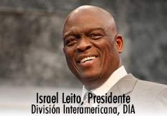 Pr. Israel Leito, reelecto como presidente de la División Interamericana en su 4to. quinquenio.