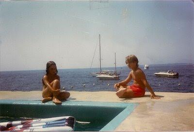salt water pool - 1985