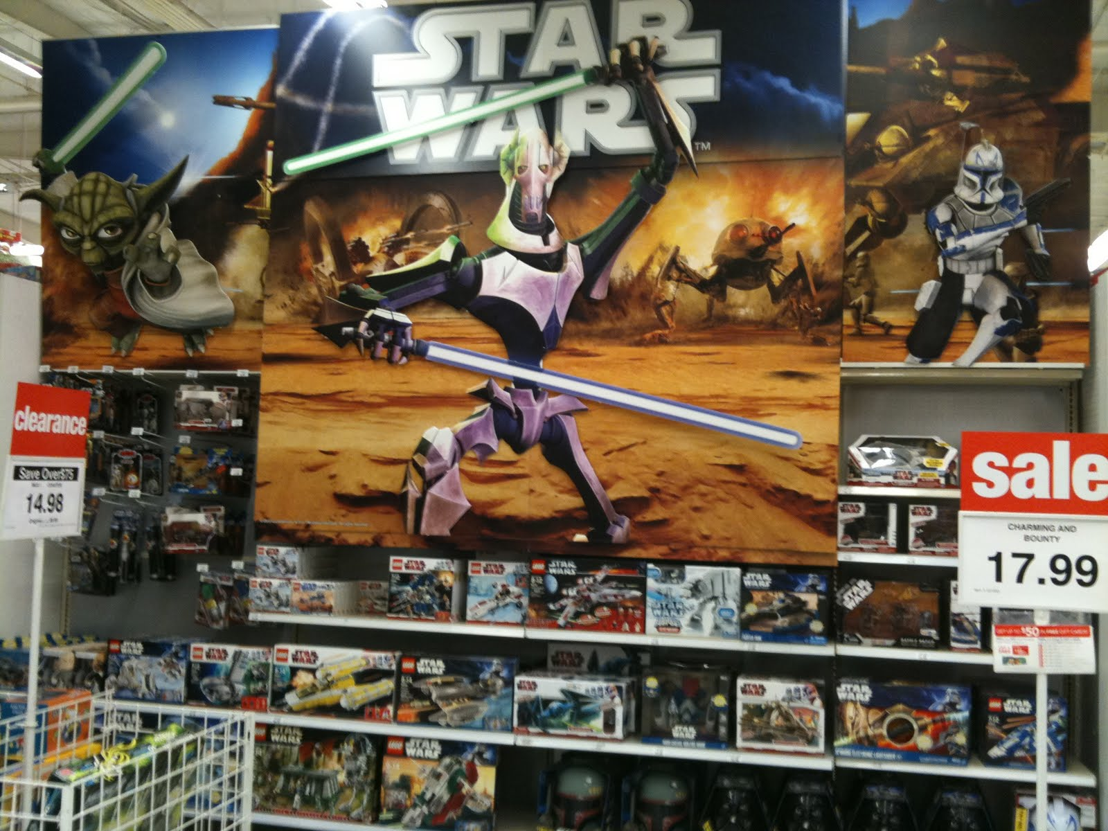 Nostalgic G: Target and Toys R Us Star Wars merchandise reset...