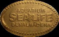 MONEDAS ELONGADAS.- (Spanish Elongated Coins) MA-007-1