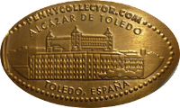 MONEDAS ELONGADAS.- (Spanish Elongated Coins) TO-002-2