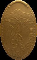 MONEDAS ELONGADAS.- (Spanish Elongated Coins) M-023-1