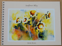 Sunflower Alley Book  by Pennsylvania Daily Painter Bertie Brown