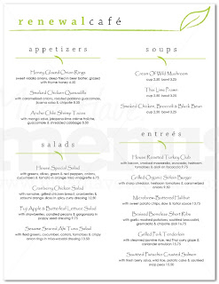 corner menu