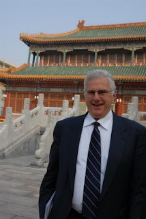 Science Editor-in-Chief Bruce Alberts in Beijing. Credit: Courtesty of Richard Stone / Science.