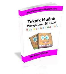 E-Book Menghias  Biskut Dengan Teknik Mudah