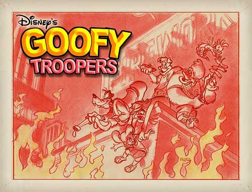 Goofy troopers