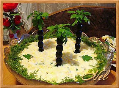 Re: Красиво украшенные салатики)