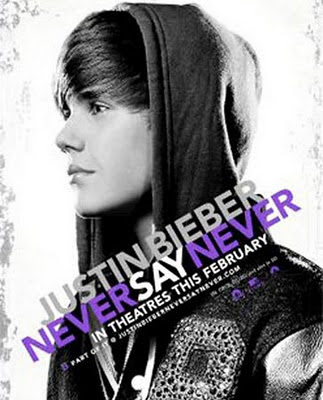 justin bieber never say never dvd label. Justin Bieber: Never Say
