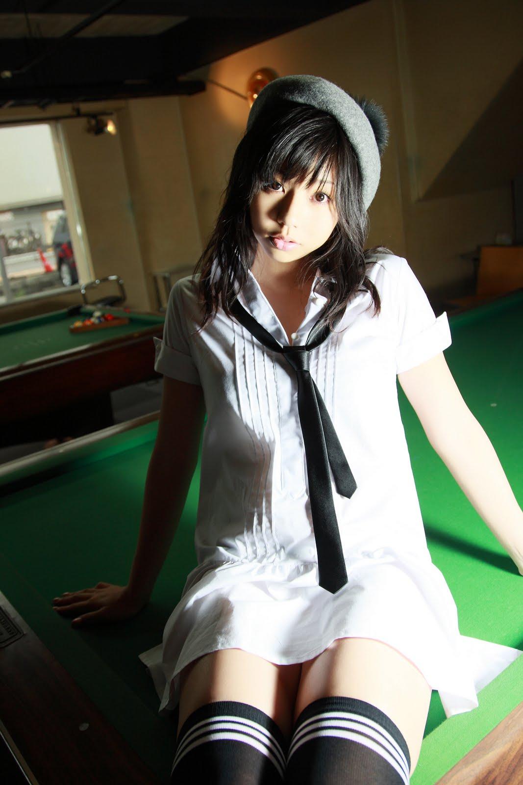 Maya Koizumi Gurabia Aidoru Which Means A Print Idol