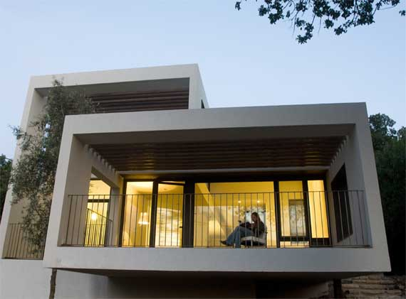 The gassul house contemporary house design by so architecture israel minimalist home dezine Dezine house