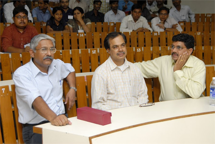 IIIT Basara Director Rajendra sahu, RGUKT Registrar Satyanarayana