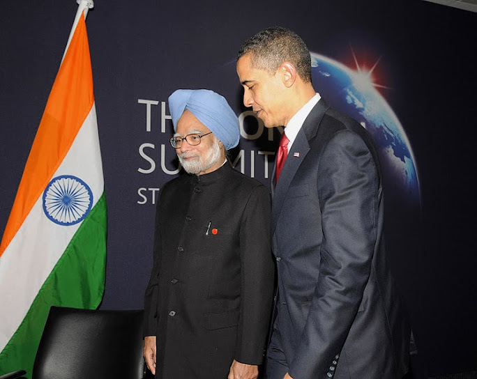 prime minister of india with president of USA