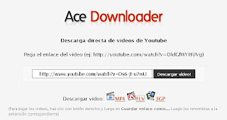 ace downloader bajar videos de youtube descargar videos de youtube
