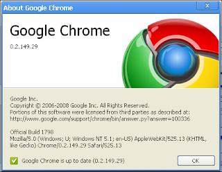 google chrome actualizado