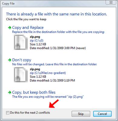 copiar archivos en windows vista