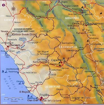 mapa de chiclayo
