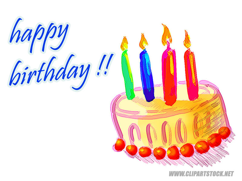 birthday wishes clip art