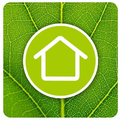 sustainable housing icon