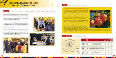 Plaquette Pomme Ariane