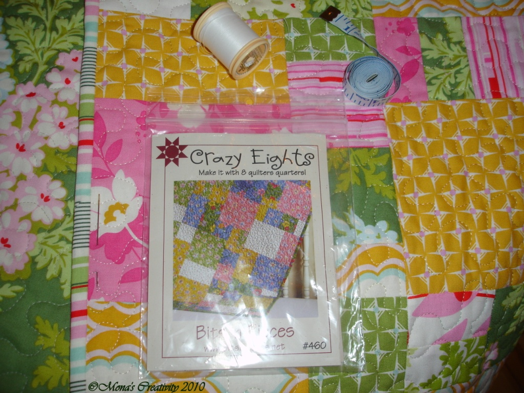 Mona s Creativity: Nicey Jane Crazy Eights Baby Quilt
