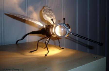 Mona's Creativity: Bug Lamp