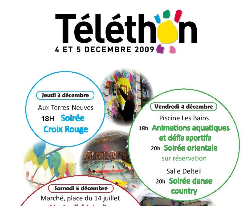 Ifsicrf2008 2011 t l thon soir e du 03 d cembre for Soiree telethon