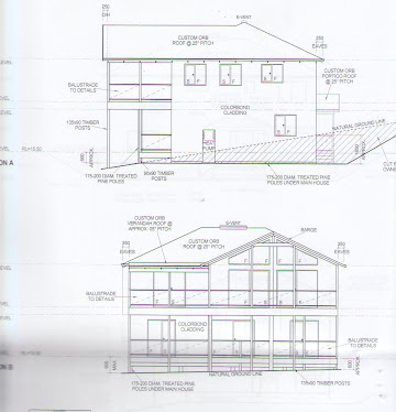 "Elevation of house ""What it will look like"""