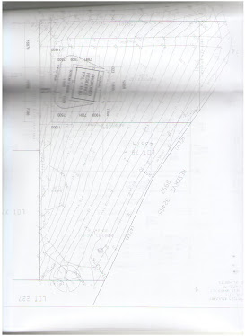Site plan of block