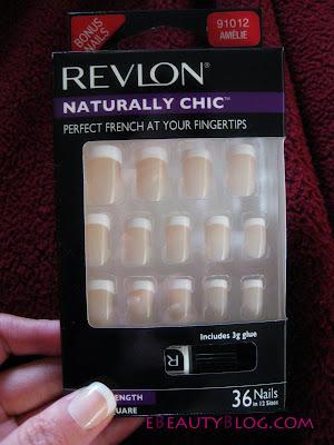EbeautyBlog.com: Revlon Glue On Nails Review