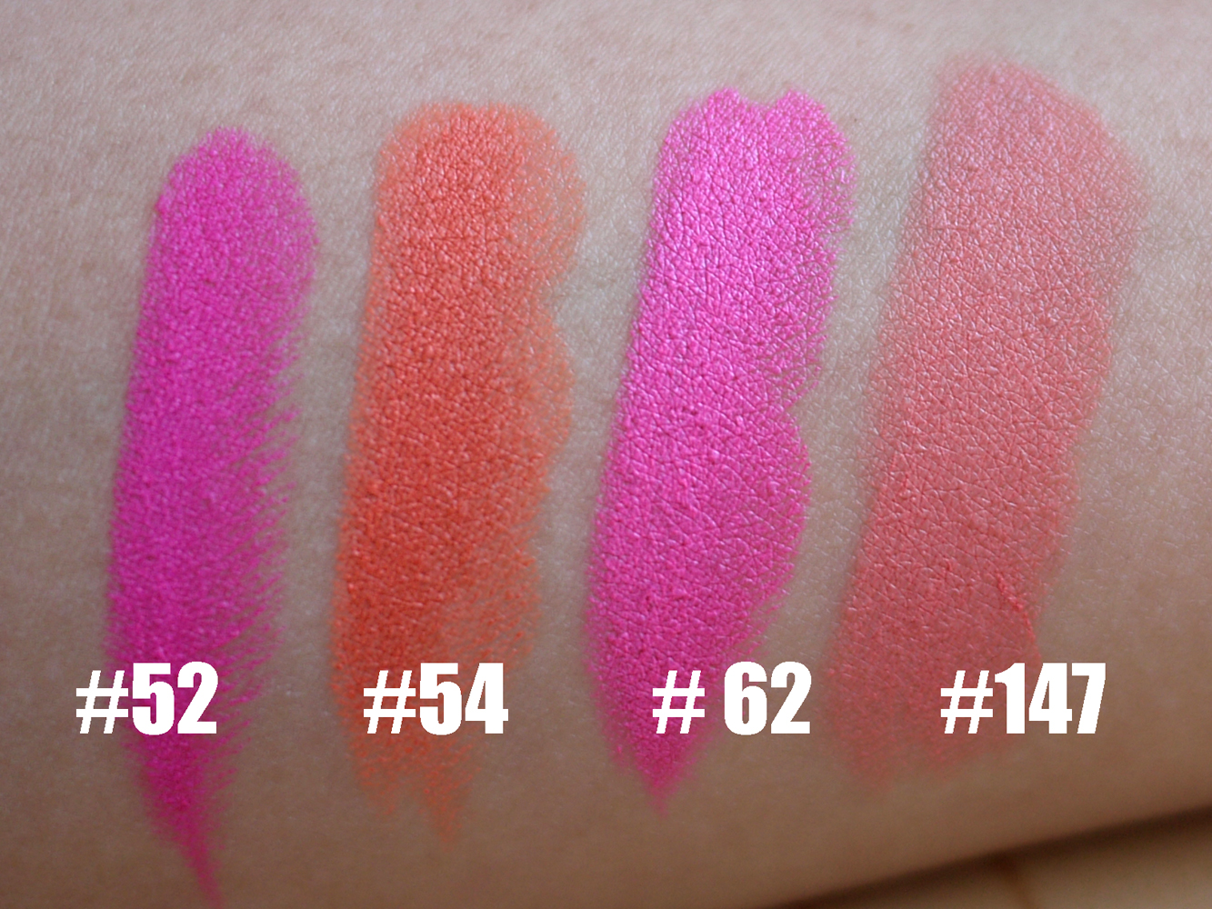 EbeautyBlog.com: Barry M Lipstick Swatches + Review