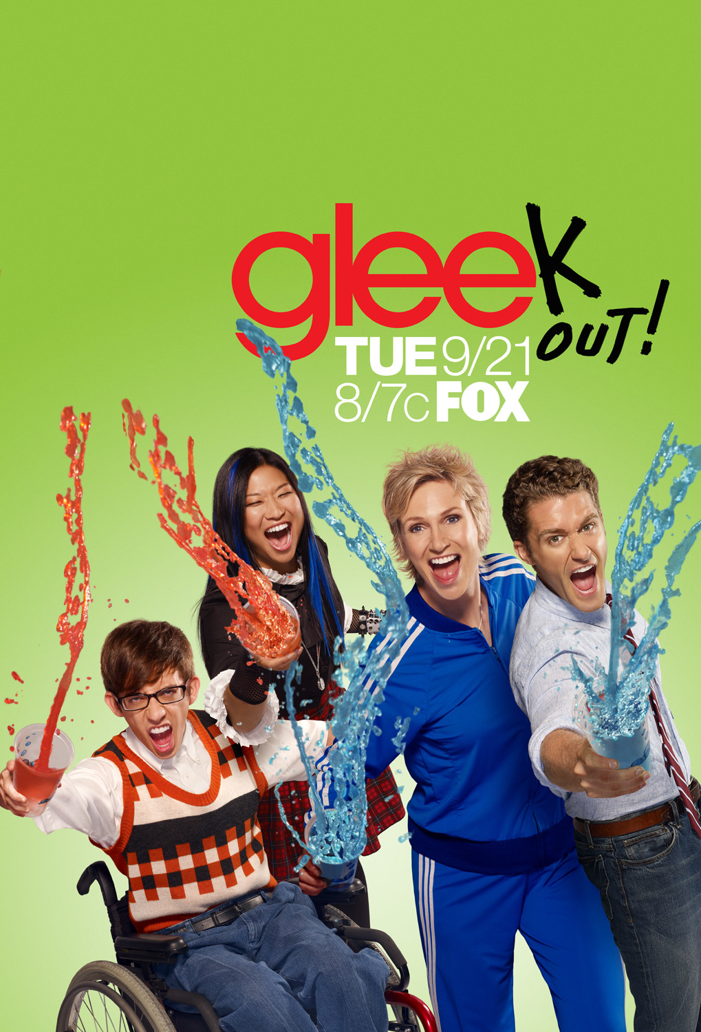 Glee [Saison 2 Episode 1 &agrave; 11] Megaupload vostfr