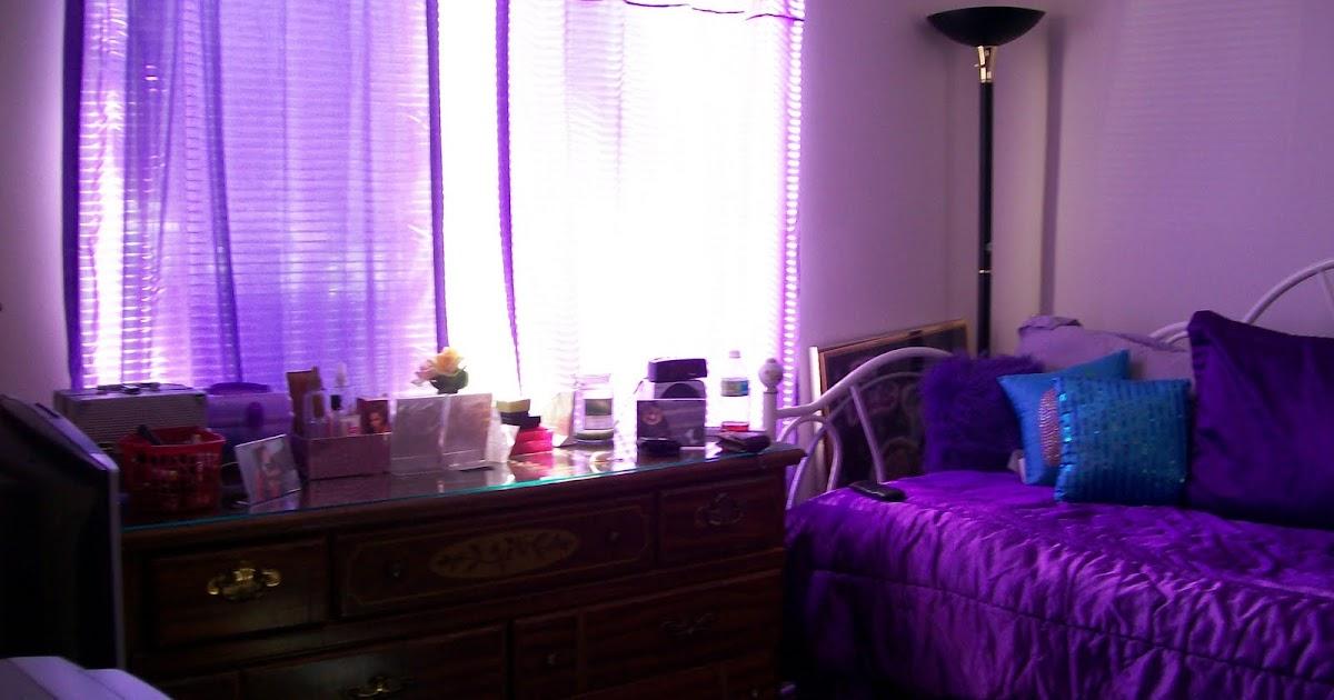 Analogous Color Schemesblue Wall Purple Kitchen Cabinets