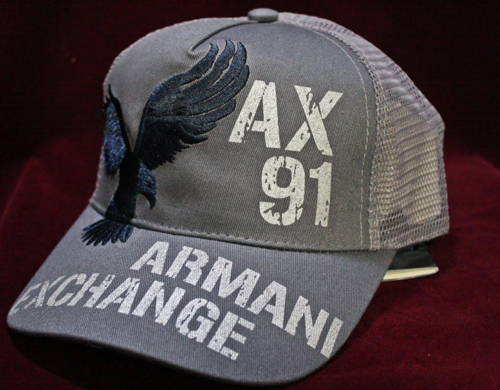 Gorras Armani Exchange 2013--100% Originales ..fashions-moda   850.0 -  laura rocio nava alonso 789cc2e6694