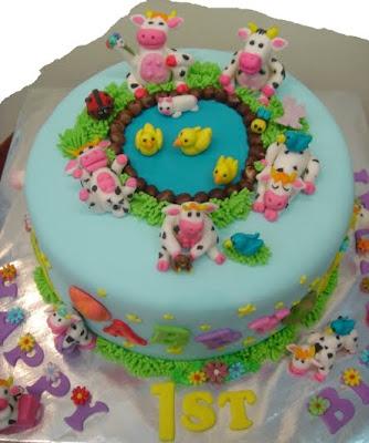 Yochanas Cake Delight Birthday Cake for Abby