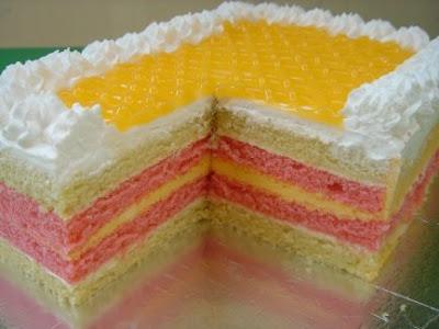 how to make mango mousse cake filling